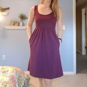 Columbia Omni Shield Purple Dress. Xsmall